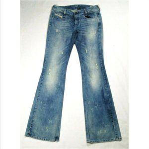 NWOT DIESEL Louvely Bootcut Jeans 008N1 2942E1M